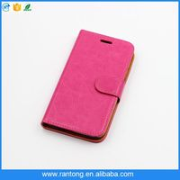 new may pu leather flip case guangzhou factory sublimation leather case for iphone