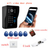 Wireless Video Wifi Entry IP Network Intercom Door Phone with SIM Card