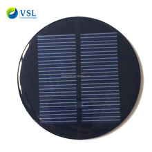 Hot sale mini solar panel 6v 0.1w mini solar panel flashing safety road light