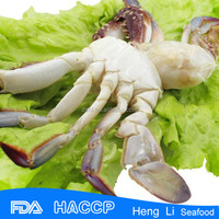 BQF frozen blue crab with HACCP Certification