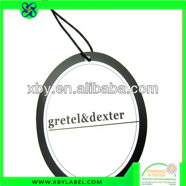 Cheap Paper Round Shape Hang Tags