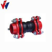 Hot selling Screw B Double Sphere Rubber Expansion Joint on Alibaba