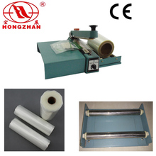 Manual Type Hand Press Sealing Device machine heat wire sealer for PE PP POF PVC Glass Paper with aluminum iron body