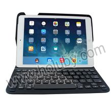 Ultra slim Flip Stand Leather Cover Bluetooth Keyboard Case for iPad Air