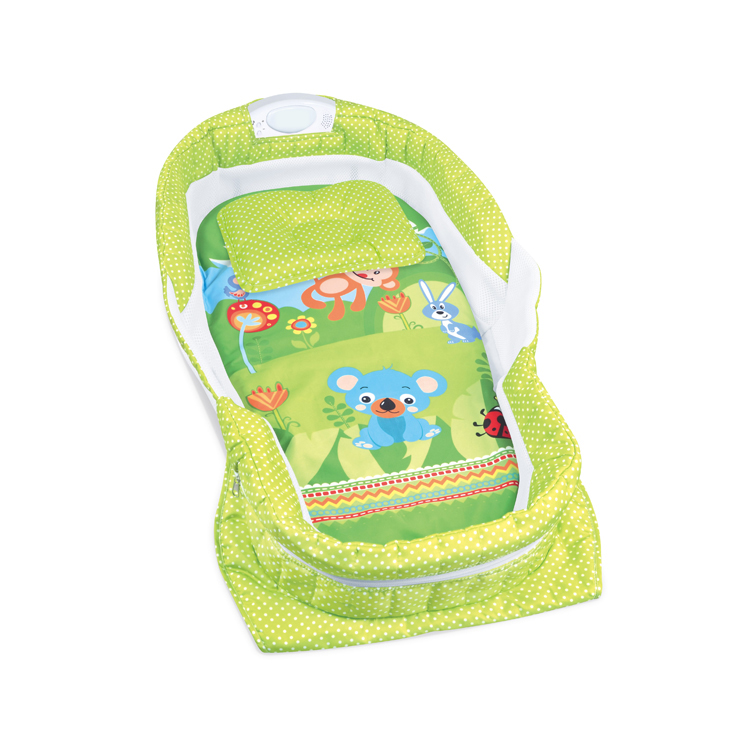 mini travel carry portable infant sleeping nest crib baby bed