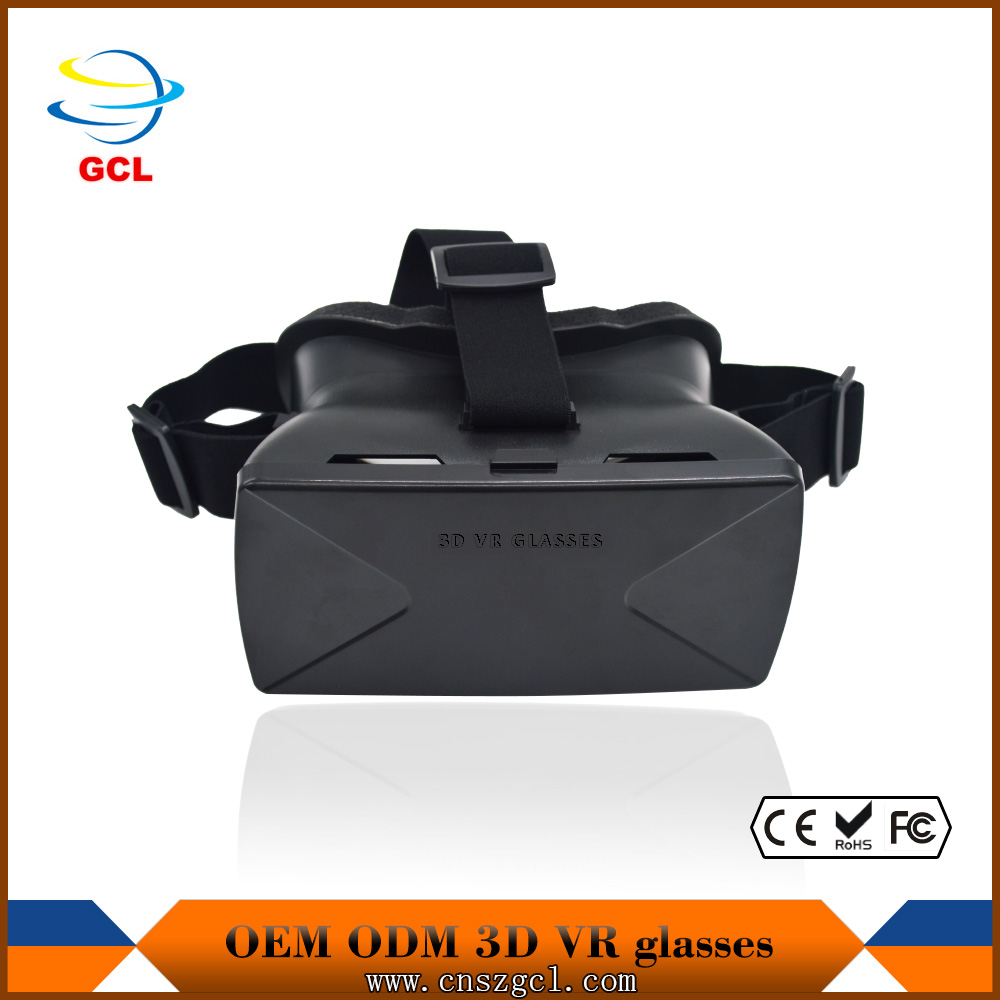 2015 newest google VR custom 3d glasses virtual reality device, 3d virtual reality headset, baofeng vr glass