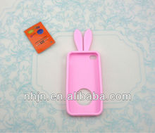Fashion silicone mobile phone case for iphone4,4s
