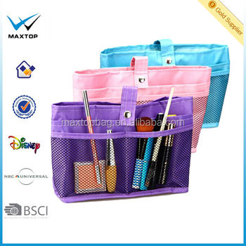 Cosmetic Organizer/makeup bag/Bag Inserts