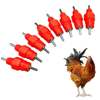 360 Degree Chicken Automatic Nipple Drinker Broiler Chicken Water Poultry Nipple Drinker