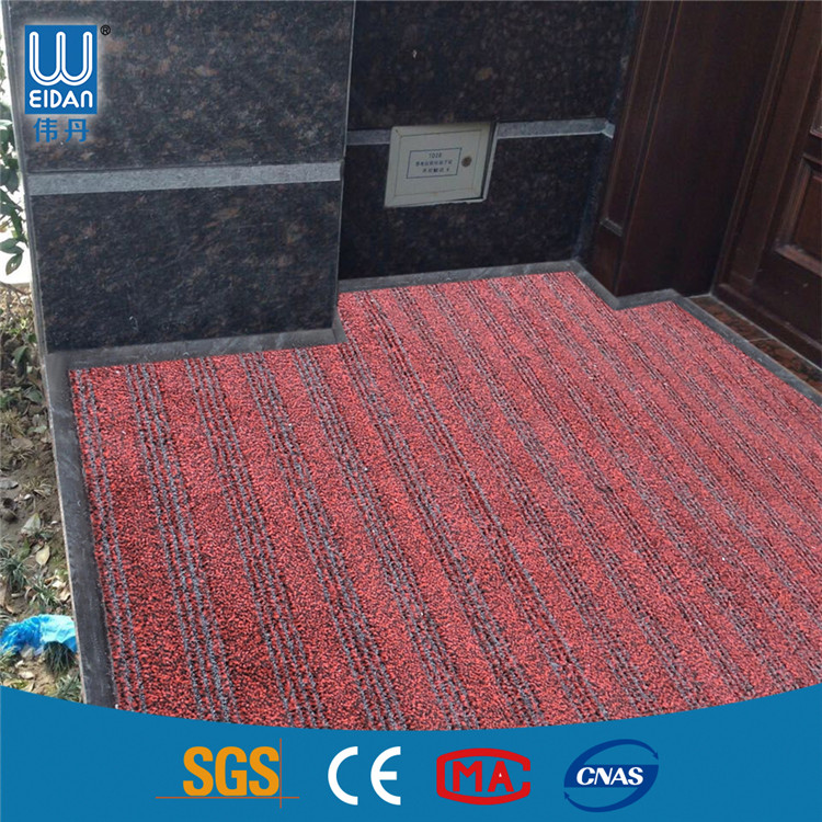 100% Nylon Door Carpet Anti Slip PVC Backing