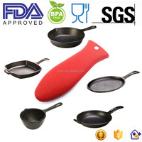 Heat Resistant Large Silicone Pot Handle Holder/Silicone Pot Handle Cover/Silicone Pan Handle