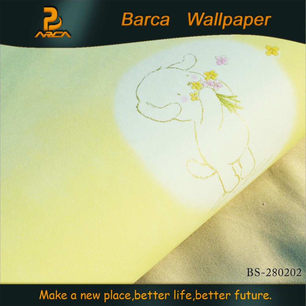 cute decorative self-adhesive wallpapers for kids room