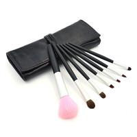 New 7pcs Professional Makeup Brushes Sets Lip Eyebrow Shadow Blush Brush Portable Cosmetic Beauty