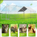 giant walk in chicken coop dog run cat enclosure rabbit cage pen