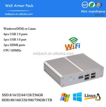 J2850 Quad Core 4 Threads 2.41Ghz Processor mini PC