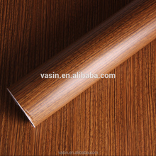 Decorative Self Adhesive Wood Grain Vinyl Film Laminate Paper for Kitchen Cabinet