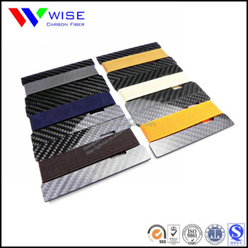 Real Carbon Fiber Credit Card Holder