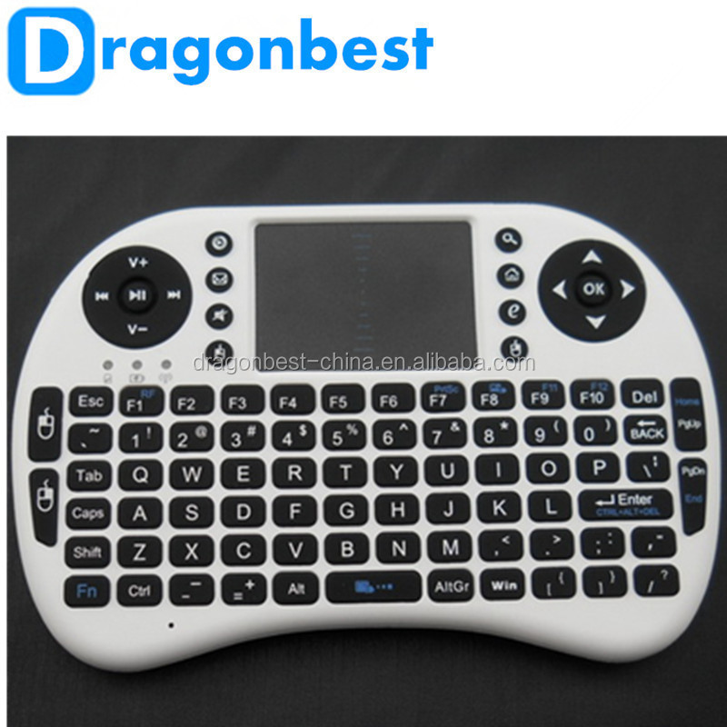 2016 Hot Sale I8 Smart Tv Wireless Keyboard for android tv box