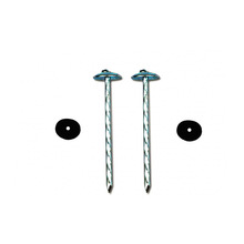 cheap price smooth umbrella head clavos para calamina copper coil roofing nails