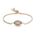 Fashion style wholesale marquise shape box chain mirco pave colorful zircon jewelry adjustable bangle bracelet for women girls