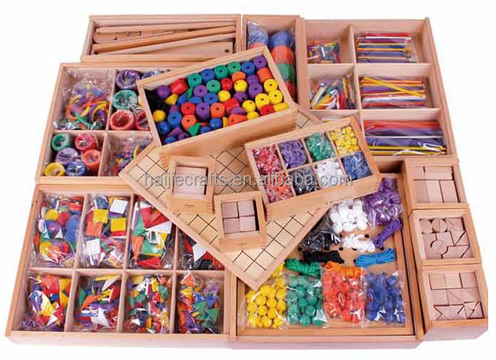 Froebel Toys Gifts Set 15pc 2.5cm version