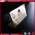 China Professional Foundry stainless steel brushed name plate