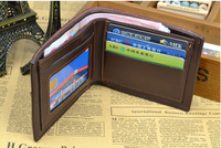 RFID Blocking Wallet/ Credit Card Holder / Credit Card Protector with PU material