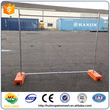 Austrilia Powered Coated Temporary Fence Panel and Feet