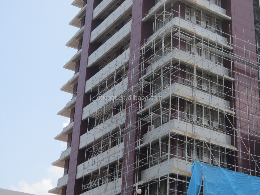 Steel Building Suspend Scaffold System For Construction Project