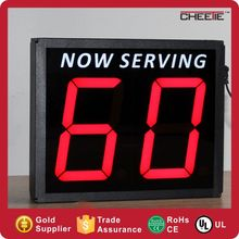 New Design Shop Office Bar Checkout Cash 7 Segment Display Countdown Timer 6 Digit 2 Digit LED Digital Counter