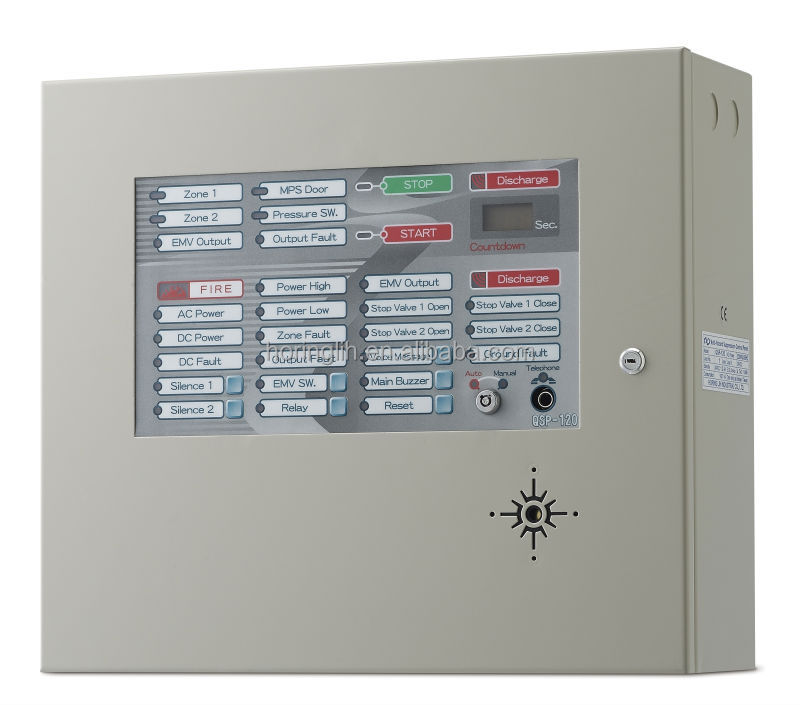 5 Cross Zone Detection Multi-Hazard Suppression Systems Conventional Control Panel Fire Alarm