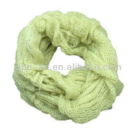 2014 newest fancy mohair neck warmer for girl