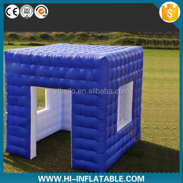 Best outdoor event use portable inflatable air cube tent for sale