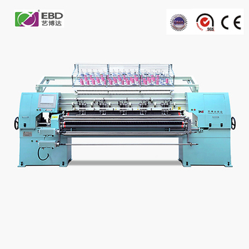 YBD64-3 computer 1676mm working width vertical multi needle quilting machine