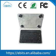 10.1 Inch Android Tablet PC Leather Keyboard Case Folding Bluetooth Keyboard