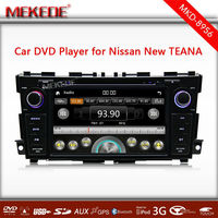 8 inch Car DVD Player for new Teana With GPS Navigation FM AM Audio video player multiligual menu