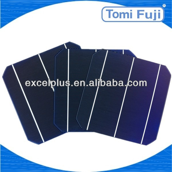 2013 cheap price Photovoltaic solar cell 156X156mm mono solar panel, solar lighting system low price