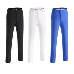 New Arrival Mens Summer Long Golf Pants Quick Dry Fit Factory OEM Wholesale Golf Trousers