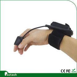 Best selling bluetooth finger trigger glove barcode scanner
