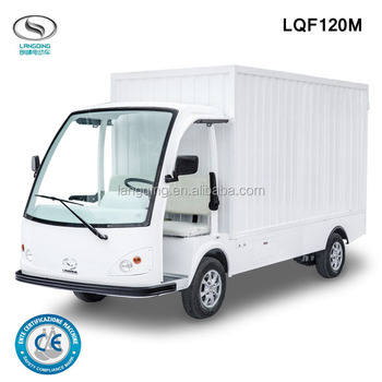 New Design electric pick up truck 0.9 ton capacity lorry LQF120M