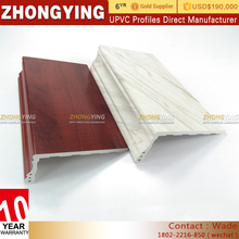 Excellent Color Pvc Film Window Sills , Impact Resistance Plastic Exterior Pvc Window Sill Covers
