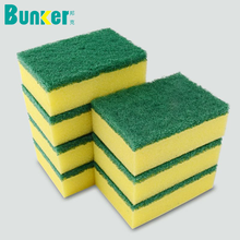 kitchen cleaning scrub pad kitchen sponge polyurethane sponge for washing