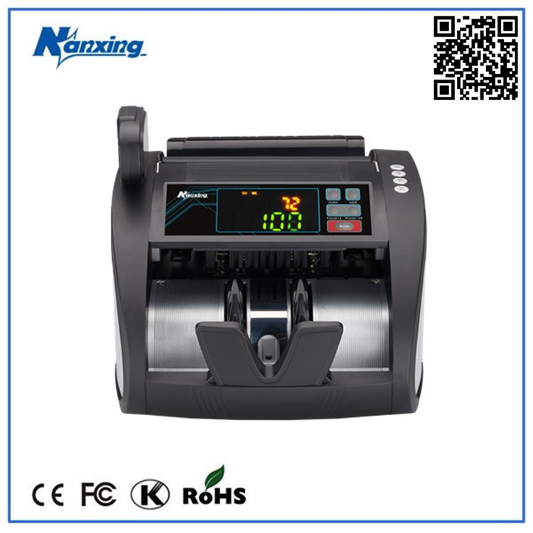 Paper or Plastic Currency Note Counter Discriminator