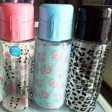 one touch easy open plastic water Bottle custom picture