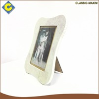 Wholesale white printing flower irregular picture photo frames for lovers