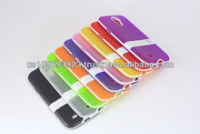 Factory Price Kick Stand Soft 2 ColorsTPU case For Sumsunng Galaxy S4 /I9500
