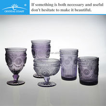 purple all kinds of bohemia crystal glassware wholesale