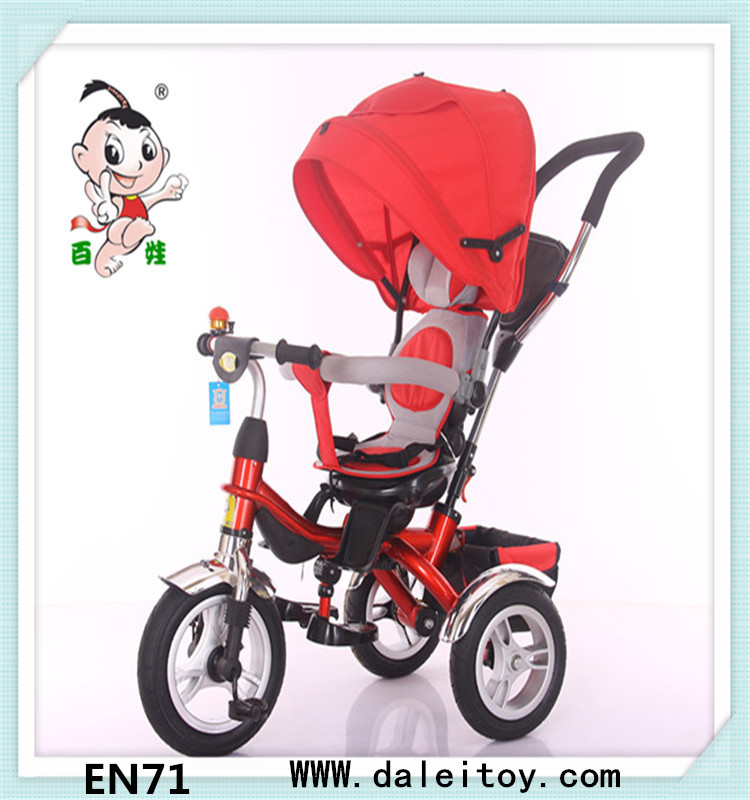 Super quality great material professional factory tricycle for kids 4 in 1rotary seat with EN71 certificate forbest price