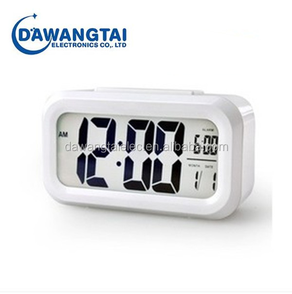 Snooze/Light Large LCD Digital Backlight Alarm Clock