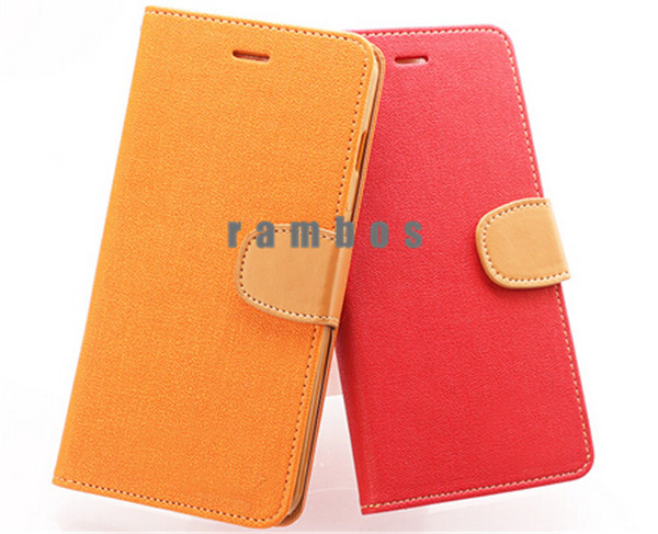 Customize Phone Case Flip Leather Case Mobile Phone Bags Cover for Acer Liquid E700